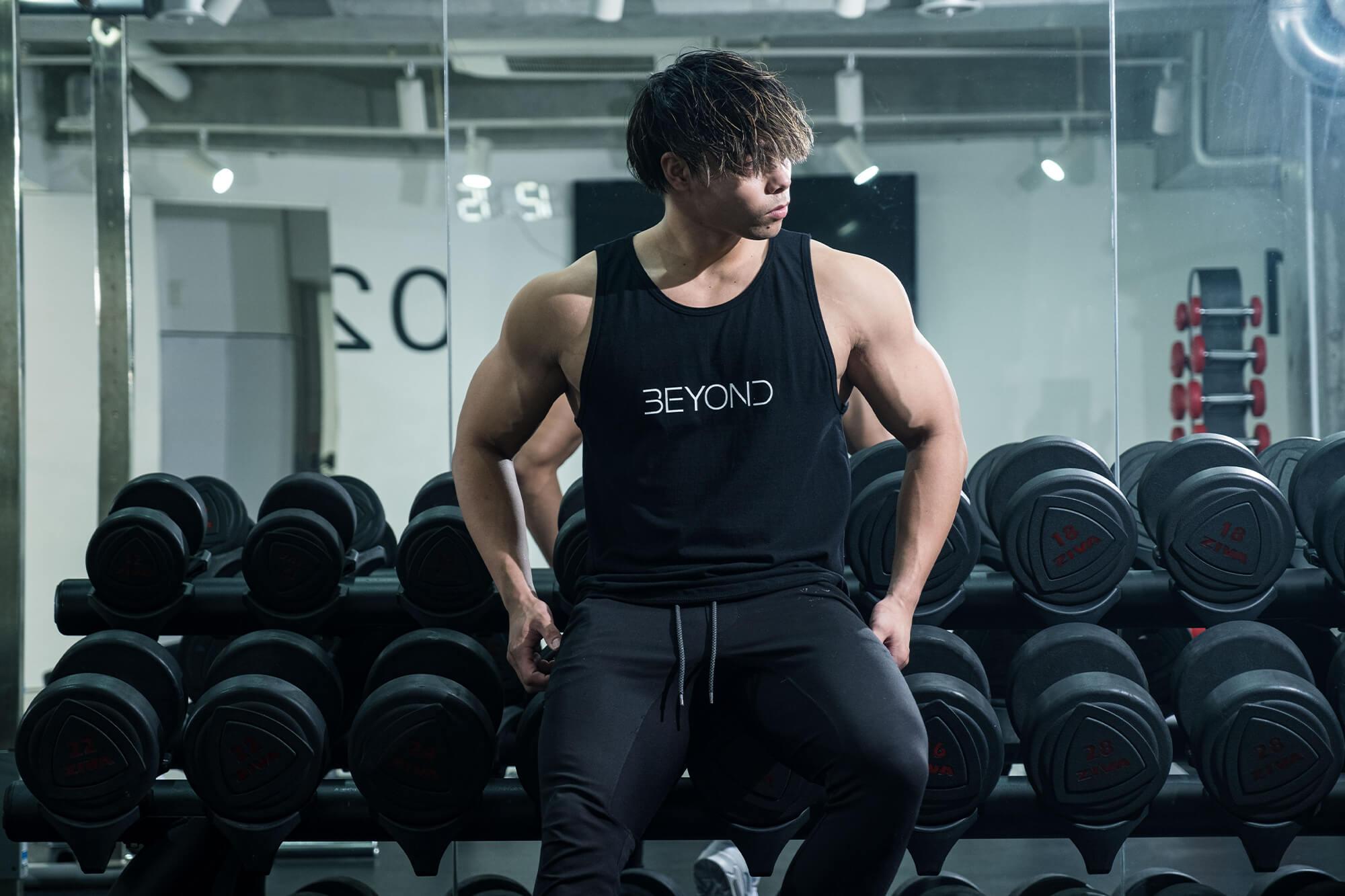 エドワード加藤トレーニング中の写真